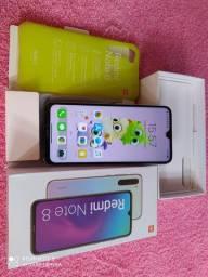 Lindo Xiaomi Redmi note 8 Semi novo