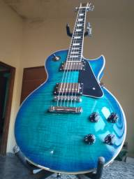 Guitarra Les Paul PHX Azul