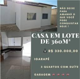 Título do anúncio: Imperdível casa Igarapé 330mil