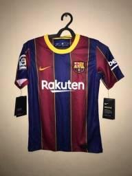 Camisa Barcelona nike infantil (P)