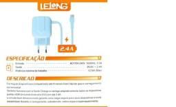 Carregador Parede Tipo C Le-232c Lelong