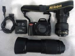 Câmera fotográfica profissional Nikon D40