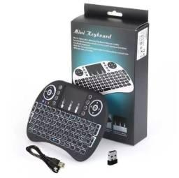 COD:0025 Mini Teclado Air Mouse Touch Sem Fio Tv Box wireless