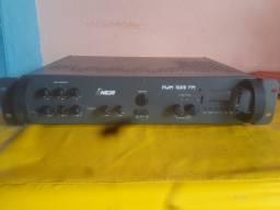 Vendo amplificador que já é equalizador é bluttuf e pendrive.