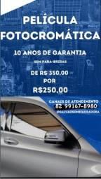 Promoção de Película Fotocromática de R$ 350,00 por R$ 250,00
