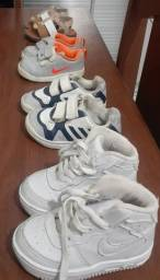 sandália  e tênis