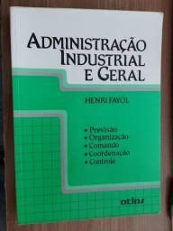 Livro administração industrial e geral