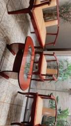 Jogo de cadeiras e mesinha ( TUDO INCLUÍDO)