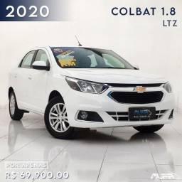 GM - Cobalt 1.8 LTZ Automático Flex / 2020 Completo ! Apenas 12 mil rodados