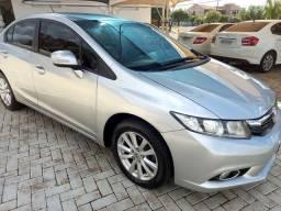 Civic  lxr 2.0  flex  automático ano 2014