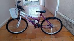 Vendo bicicleta Status Belíssima Feminina ótimo estado Aro 26