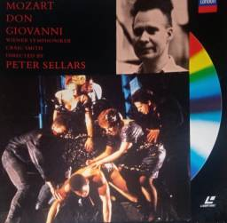 Mozart Don Giovanni- laser disc