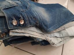 14 calças Jeans Número 42 Ao-38 por r$ 50