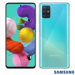 Celular Samsung Galaxy A51 Dual 128gb 4gb Azul Capa