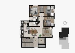 Apartamento 3 quartos 2 vagas bairro Castelo
