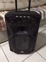 Caixa de som Bluetooth sumay Thunder Black 400w - c/microfone!
