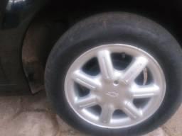 Troco rodas aro 14 c pneus pirelli ,por aro 15 ou 17