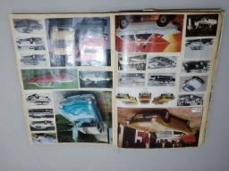 Coleção anúncios de automóveis antigos