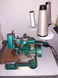 Máquina de costura orveloque semi industrial