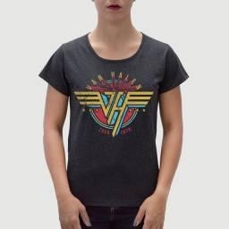Camiseta Feminina Van Halen - Tamanho P - G