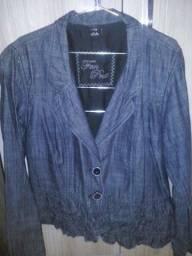2 jaquetas jeans veste M/G por R$40,00