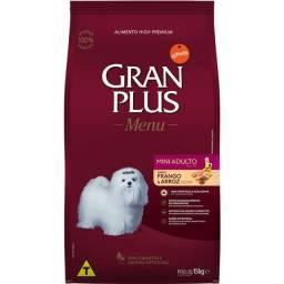 Ração GranPlus Frango e Arroz para Cães Adultos Mini 15Kg