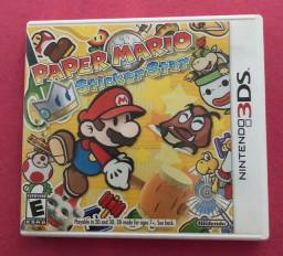 Jogo paper Mario sticker star
