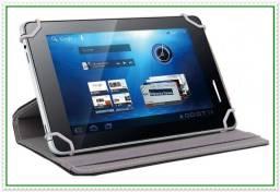 Capa Case para Tablet de até 7 Polegadas, com Suporte Universal. NOVA