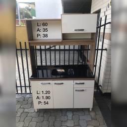 Cozinha Compacta 1.20 com tampo