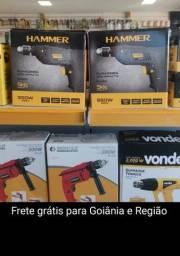 Furadeira Hammer 3/8 550W