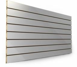 Painel Canaletado 1,22x61  + 25 ganchos para painel (05,10,15,20 ou 25cm)