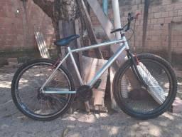 Bicicleta Caloi Aluminio polido