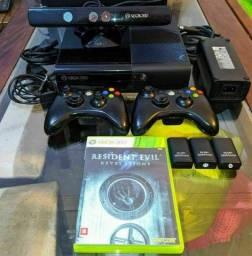 Xbox 360 Super Slim Seminovo Completo - (LEIA O ANÚNCIO)