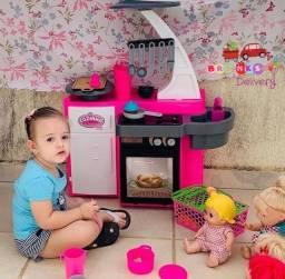 Cozinha Clássica com Geladeira e Forninho PRODUTO NOVO fazemos entrega grátis em Natal