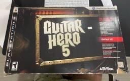 Guitarra Guitarra Hero PlayStation 3 - sem a mídia do jogo, apenas a guitarra