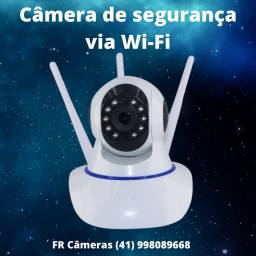 Câmera robô de segurança via Wi-Fi
