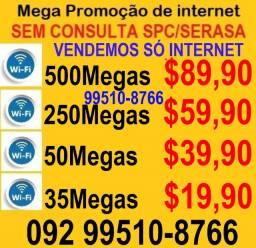 internet mega promoçao