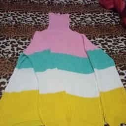 Título do anúncio: Blusão de tricô