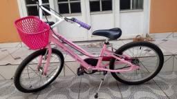Bicicleta feminina infantil nova