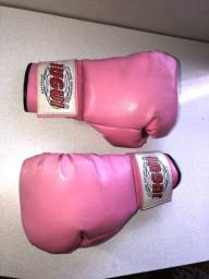 Luva rosa de box / muay thai