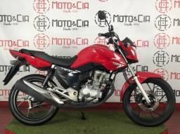 Honda Fan 160 2020 2020 Vermelha