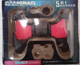 Controle para Celular Gamepad Jogos Android Ios  5x1