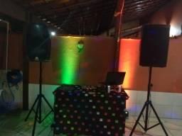 DJ, Som, Iluminação e Pista de Dança