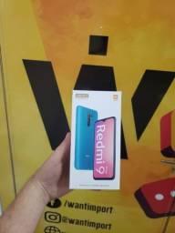 Redmi 9 Prime, 4GB + 128GB - Azul/Roxo/Preto/Verde