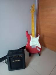 Guitarra Tagima mais amplificador meteoro