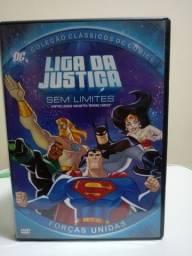 DVD Liga da Justiça Sem Limites - Faço Envio.