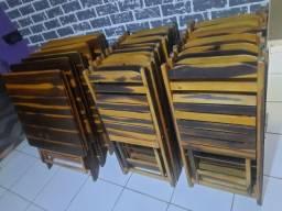 Vendo 6 conjuntos de mesas e cadeiras