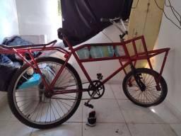 Bicicleta garga 350,00 aceito oferta