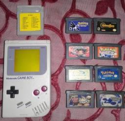 Game Boy Original com Fita 27 Jogos + Jogos Game Boy Advance
