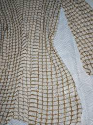 Kimono tricot bege